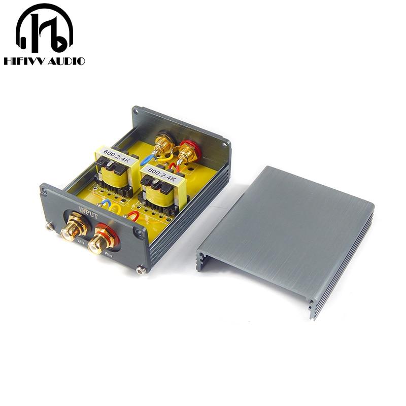 hifi permalloy audio transformer for Passive preamplifier 4 times gain amplification Nickel alloy lamination core