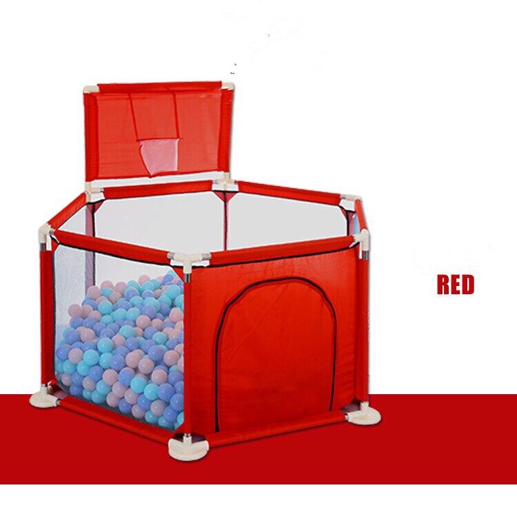 Крытый морских мяч площадка детские, для малышей играют забор ребенка ползать коврик малыша забор безопасности детей забор домашние