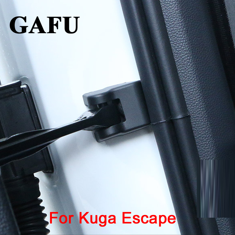 For Ford Kuga 2018 Car Door Lock Protection Cover Door Stopper Protective Cover water proof protector for Escape Car Accessories color my life abs car door stopper cover door lock protective covers for jeep renegade 2015 2016 2017 compass 2017 accessories