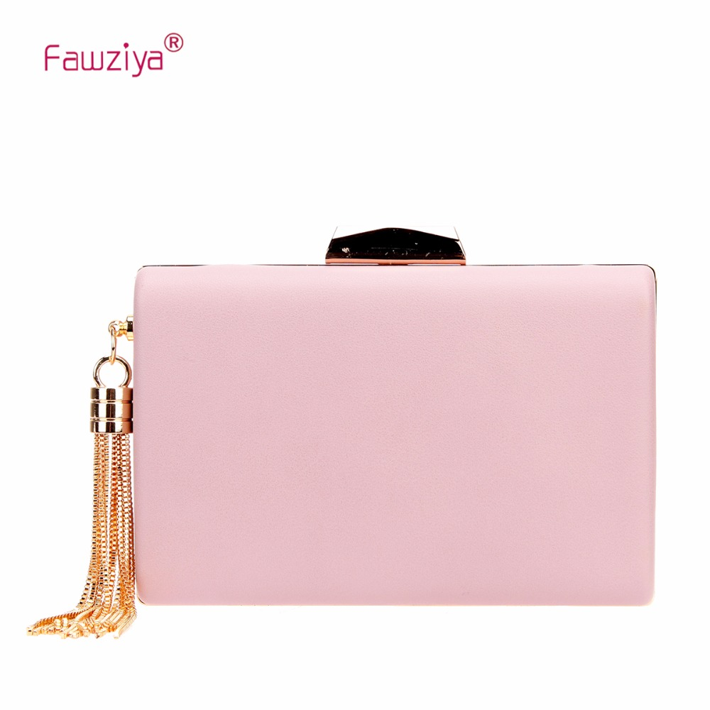 Fawziya Tassel Evening Clutches For Wedding And Party Clutch Purses For Women