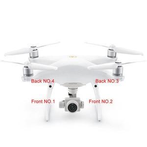 Image 5 - Echt DJI Phantom 4 Deel Landingsgestel Antenne Cover Vervanging Decoratieve Cap voor RC Camera Drone 4 stks/set