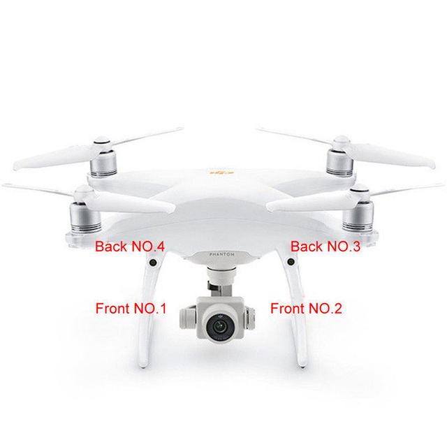 Genuine DJI Phantom 4 Part – Landing Gear Antenna Cover Replacement Decorative Cap for RC Camera Drone 4pcs/set