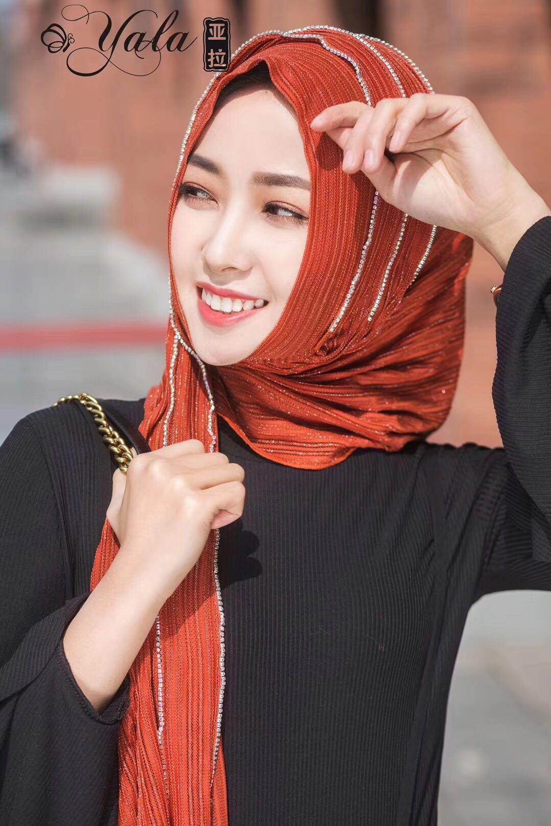 Yara's Fashion Muslim  Chiffon Women Girls Hijabs