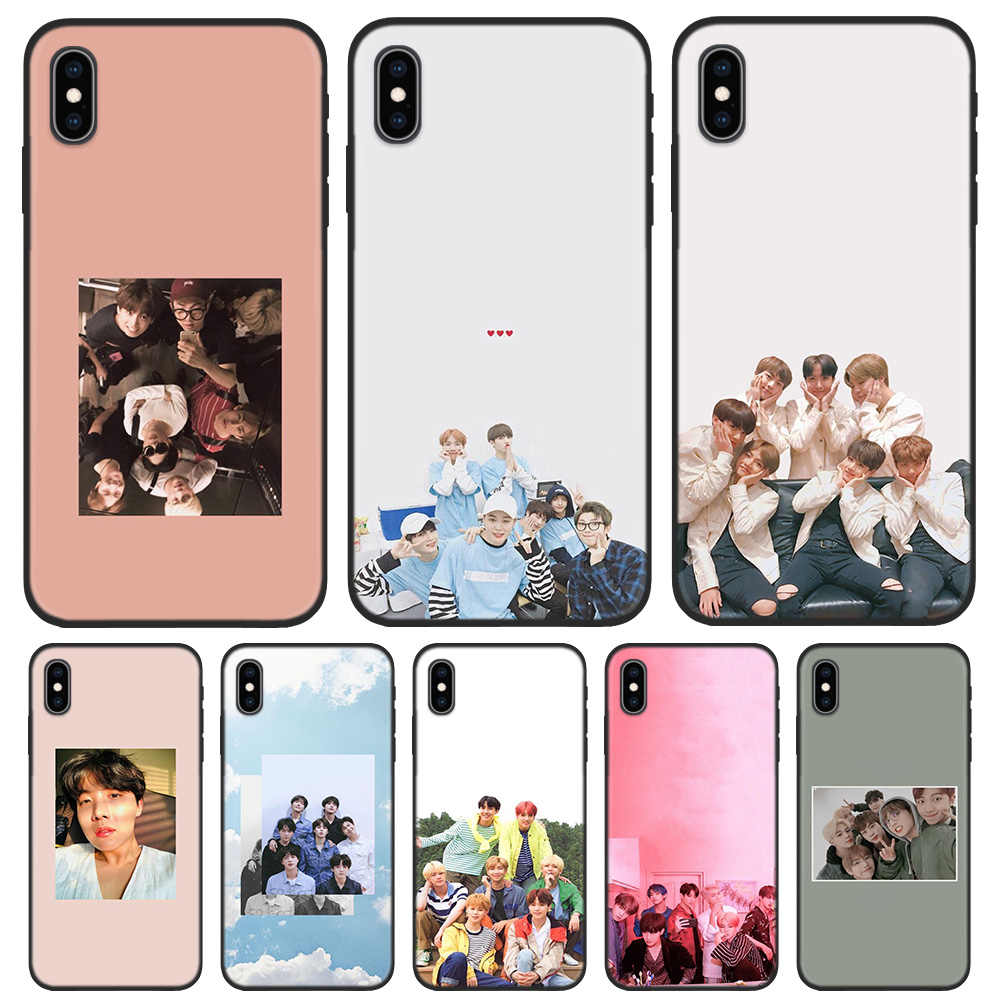 Силиконовый чехол-сумка из ТПУ чехол для iPhone 5 5S SE 6 6S 7 8 Plus X XR XS Max iPhone 11 11Pro Max Fundas Casos Coque Fall J Hope kPop