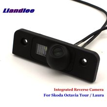 Liandlee For Skoda Octavia Tour / Laura Car Reverse Parking Camera Backup Rear View SONY CCD Integrated Nigh Vision