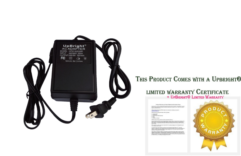 UpBright New 12V AC 4.7A AC AC Adapter For fiber optic Christmas ...