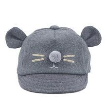 5001 niños bebé conejo de conejo visera gorra de béisbol algodón enarboló  el sombrero DROPSHIPPING 40fed899573