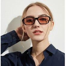 New Vintage Rectangle Sunglasses Women Retro Small Square De