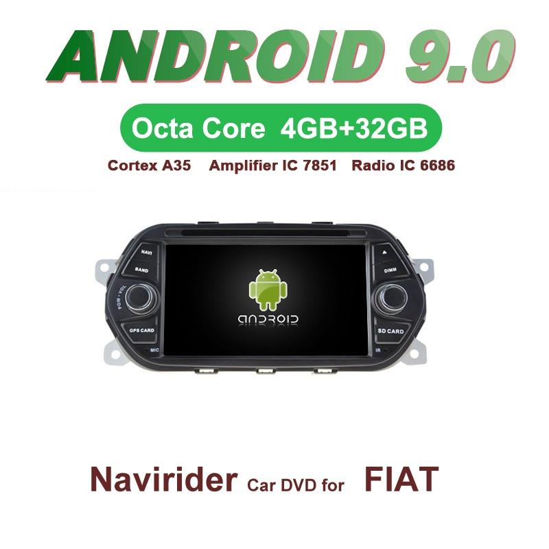 OTOJETA Car GPS 7inch Android 9.0 Radio FOR FIAT EAGA NEW bluetooth Navigation Capacitive screen support mirror linkOTOJETA Car GPS 7inch Android 9.0 Radio FOR FIAT EAGA NEW bluetooth Navigation Capacitive screen support mirror link