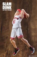 Grandes brinquedos dasin hanamichi sakuragi figura de ação slam dunk gt modelo brinquedo no.10 roupas brancas