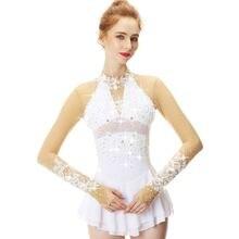 Белое кружевное платье с цветами украшенное стразами Фигурное
