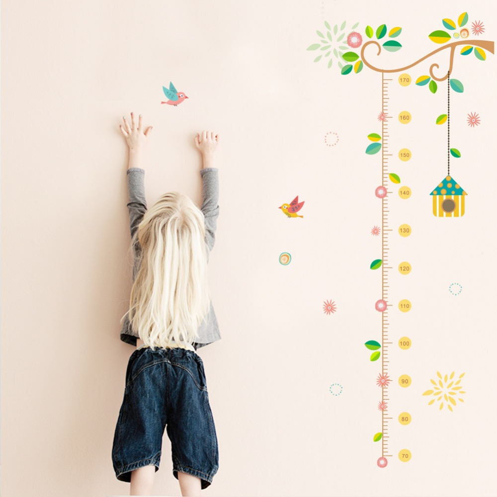 online get cheap baby nursery wall stickers aliexpress com jungle animals birdcage wall stickers kids room safari nursery rooms baby home decor poster flowers