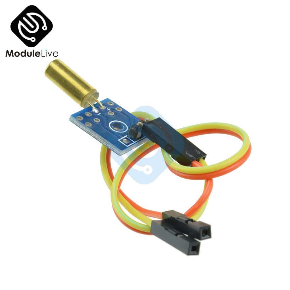 1 шт. наклона Сенсор вибрации Сенсор модуль для Arduino STM32 AVR Raspberry Pi 3,3 V-12 V с Бесплатная кабель