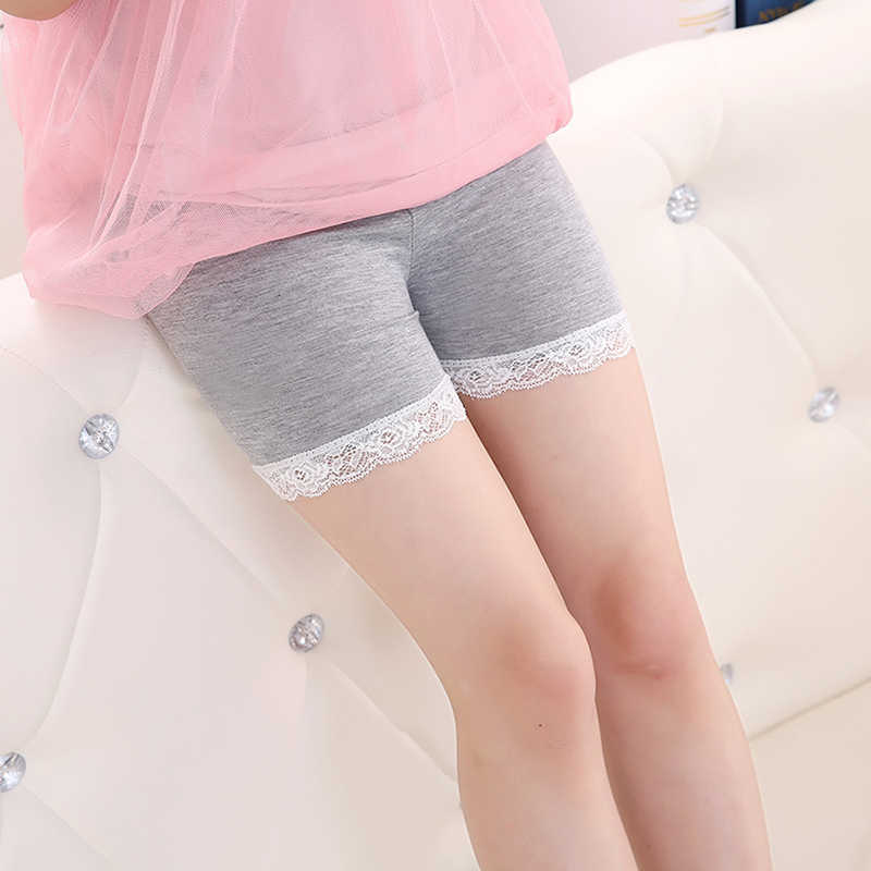 3-10Y Kids Girls Modal Cotton Boyshort Panties Lacy Children Soft Panties Underwear Baby Girl Classic All-matches Lingerie