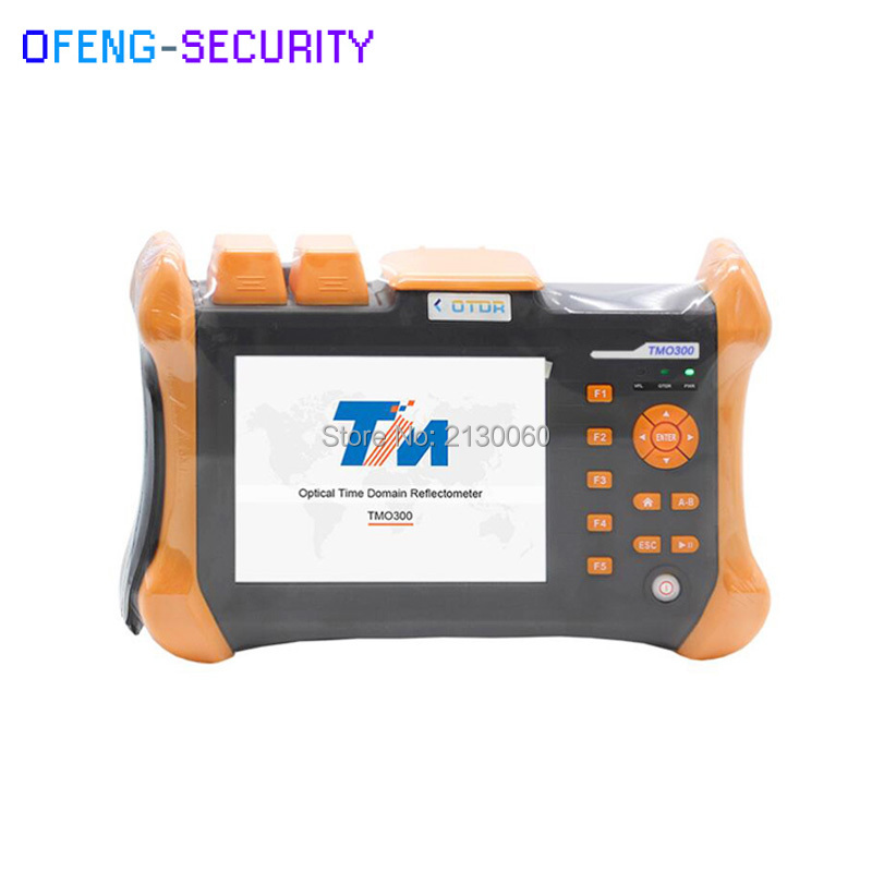 Handheld OTDR TMO-300-SM-B OTDR 1310/1550nm 30/28dB,Integrated VFL,Touch Screen Optical Time Domain Reflectometer VFL