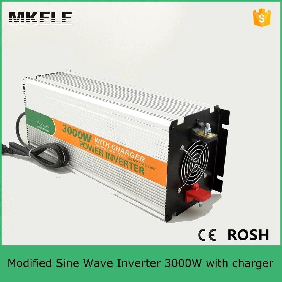 Inversor de corriente sinusoidal MKM3000 121G C modificado inversor de 3000 vatios ac 120 v dc12v convertidor inversor para uso doméstico con cargador - 4