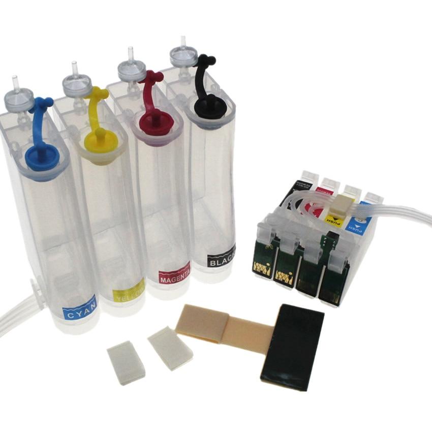 Sistema de Abastecimento Contínuo de Tinta para Impressora Bloom Ciss Epson Stylus Sx215 Sx218 Sx400 Sx405 Sx410 Sx415 Sx510w Bx600fw – Bx610fw T0711 71