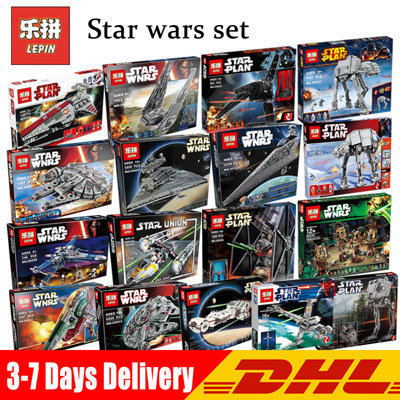 LEPIN Star War UCS Millennium Falcon 05142 05007 05026 05027 05028 05033 05034 05040 05045 05132 Legoings blocs de construction