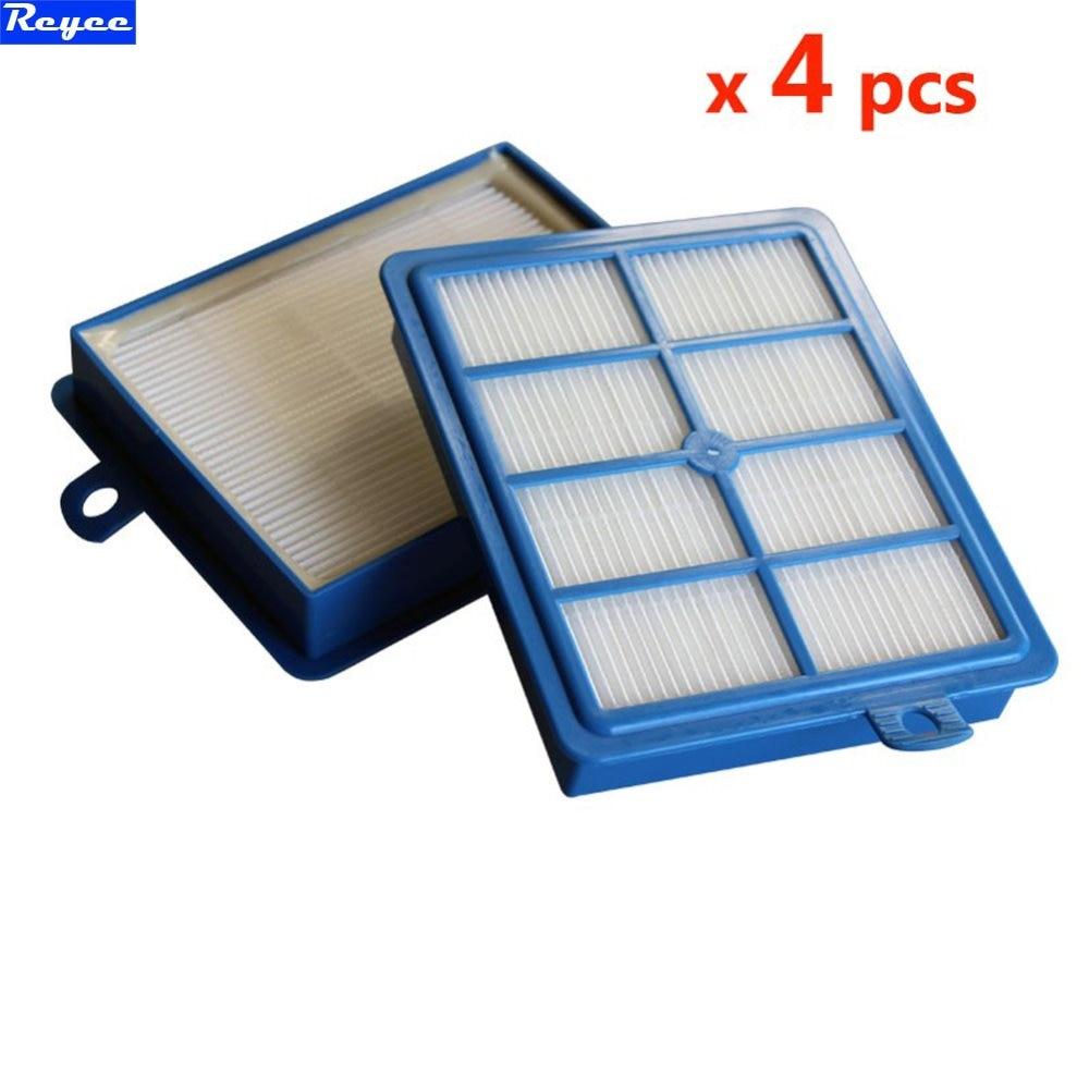4 Pcs/lot For PHILIP FC8204 FC8060 FC9150-FC9199 FC9071 FC8038 STARTER KIT Proformer pro FILTER S-filter HEPA 12 HEPA 13 Blue цены онлайн