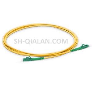 Image 4 - QIALAN 10m (33ft) LC APC to LC APC Fiber Patchcord Simplex 2.0mm G657A PVC(OFNR) 9/125 Single Mode Fiber Patch Cable