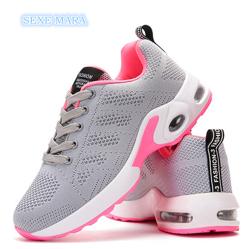 48c96d84d931 Air Cushioning Outdoor Sport Shoes Women Sneakers Running Shoes For woman  Breathable Gym Shoes Jogging Walking Athletic Trainers - aliexpress.com -  imall. ...