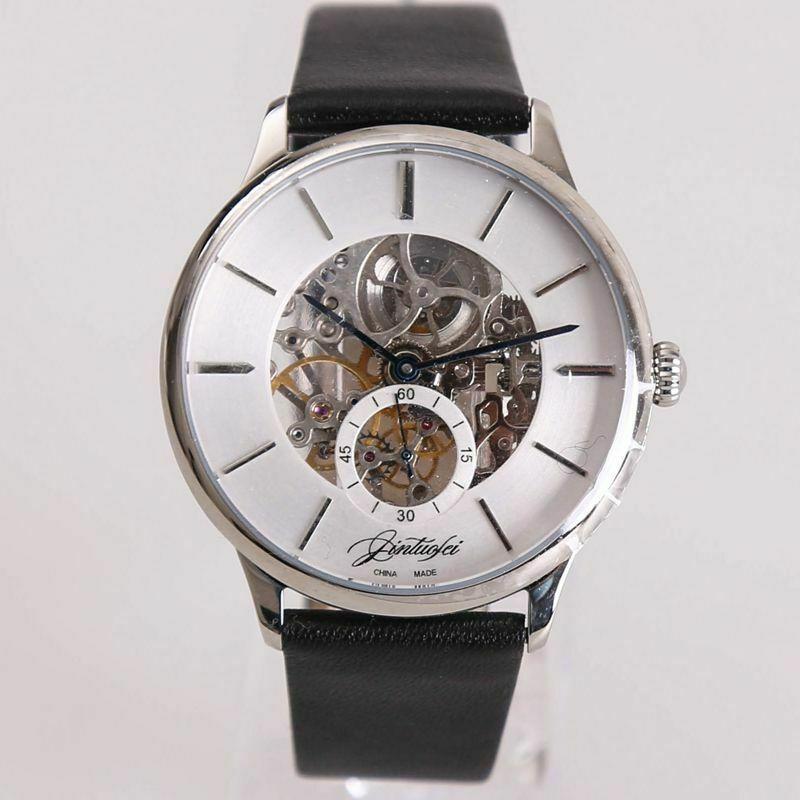 Seagull MVT Mens  Handwinding Mechanical watch Ultra Thin Skelenton Dress LuxurySeagull MVT Mens  Handwinding Mechanical watch Ultra Thin Skelenton Dress Luxury