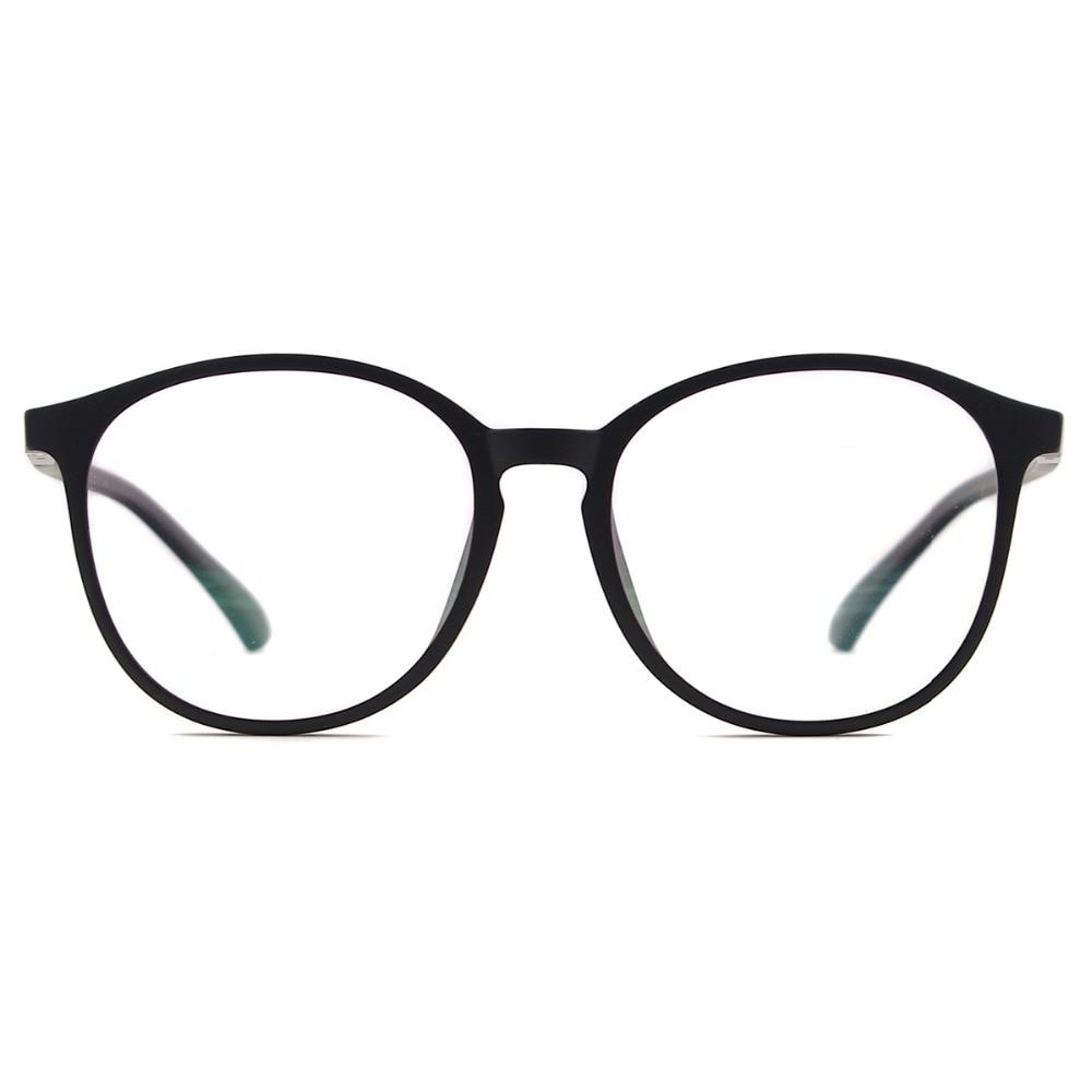 Flexible Kunststoff Vintage Runde Sonnenbrille Frauen Magnetische - Bekleidungszubehör - Foto 2