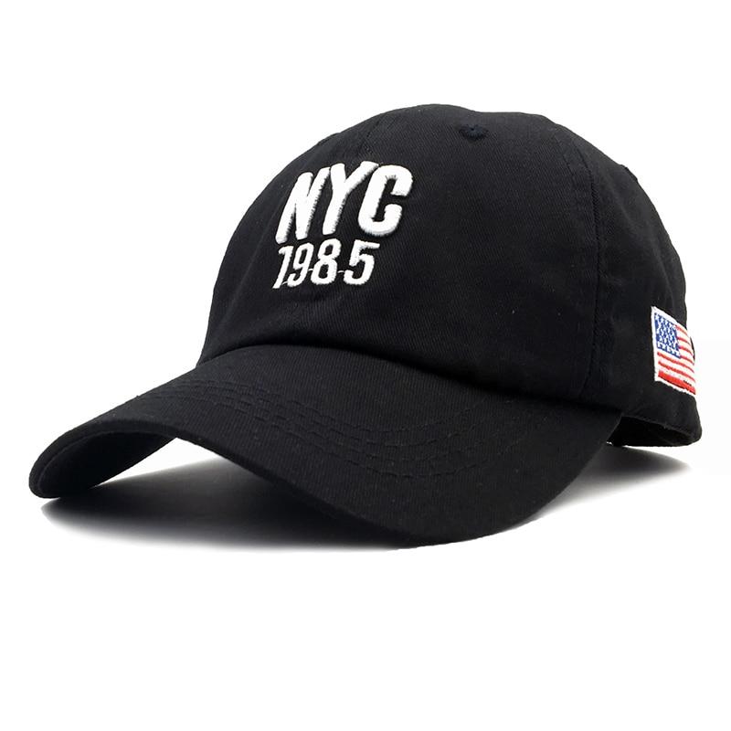 2018 Top Quality Cotton NYC 1985   Baseball     Cap   Gorra Trucker Golf Hats Men Women   Caps   Men USA Hats American flag Snapback