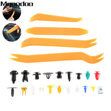 200Pcs/20kinds Universal Door Bumper Panel Fender Retainer Fastener Rivet Plastic Clip+Car Auto Pliers Tool