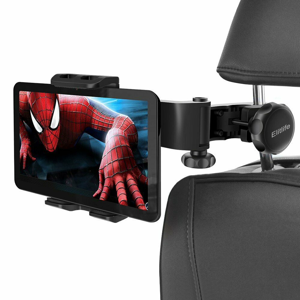 Adjustable Car Headrest Phone Holder For IPad Iphone 4-12