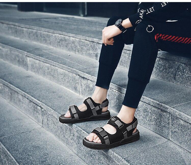 Reetene moda homem sandálias de praia 2018