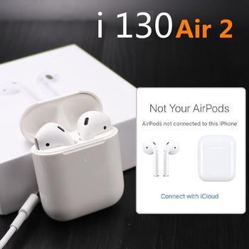 i130 TWS 1:1 Replica Air 2 Pop up Separate use Wireless Earphone QI Wireless Charging Earphones PK w1chip i80 i60 i20 i30 tws vasos sanitários coloridos