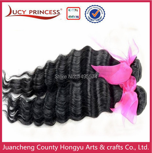 Lucy Malaysian Virgin Hair Curl Human Hair Extension 2pcs Lot Cheap