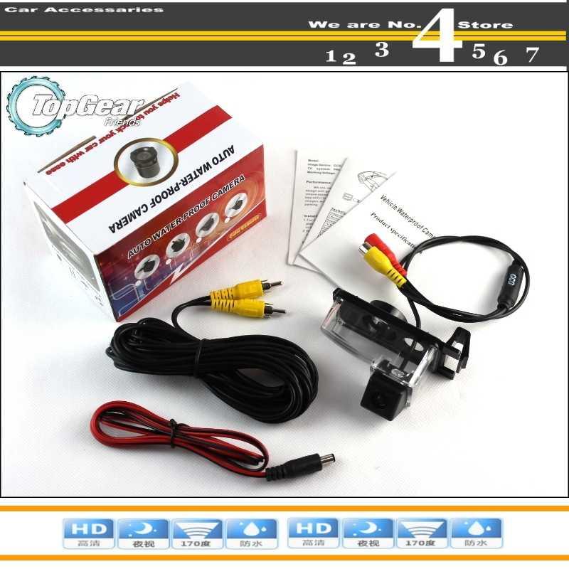 Caméra de voiture pour Nissan Tiida Latio Hatchback 2004 ~ 2012 caméra de recul de haute qualité pour PAL/NTSC à utiliser   RCA