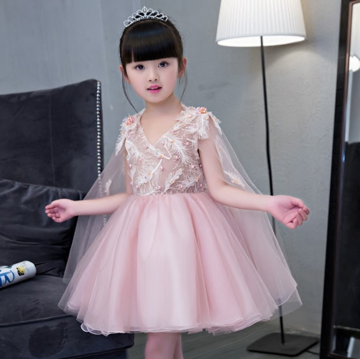 Girls wedding princess dress summer kids children's