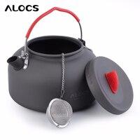 2018 New 1.4L Alocs Aluminum CW K03 Outdoor Kettle Camping Picnic Water Teapot Useful Tool