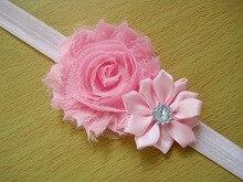 Newly Design Lovely Sweet Children's Elastic Force Hairband Princess Baby Girl Round Flower Headband