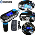 New !Super Hot Sale Bluetooth Car Kit Handsfree MP3 Player FM Transmitter Dual 2 USB Charger Support SD Card & Line-in AUX