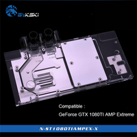 Geuine Bykski N ST1080TIAMPEX X for ZOTAC GeForce GTX 1080TI AMP Extreme edition /ZT P10810d 10 support sync motherboard