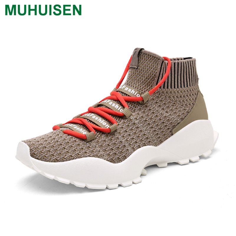 Muhuisen Men Casual Shoes Basketball Shoes 2018 Newly Outdoor Men Climbing Shoes For Comfortable Men Casual Shoes