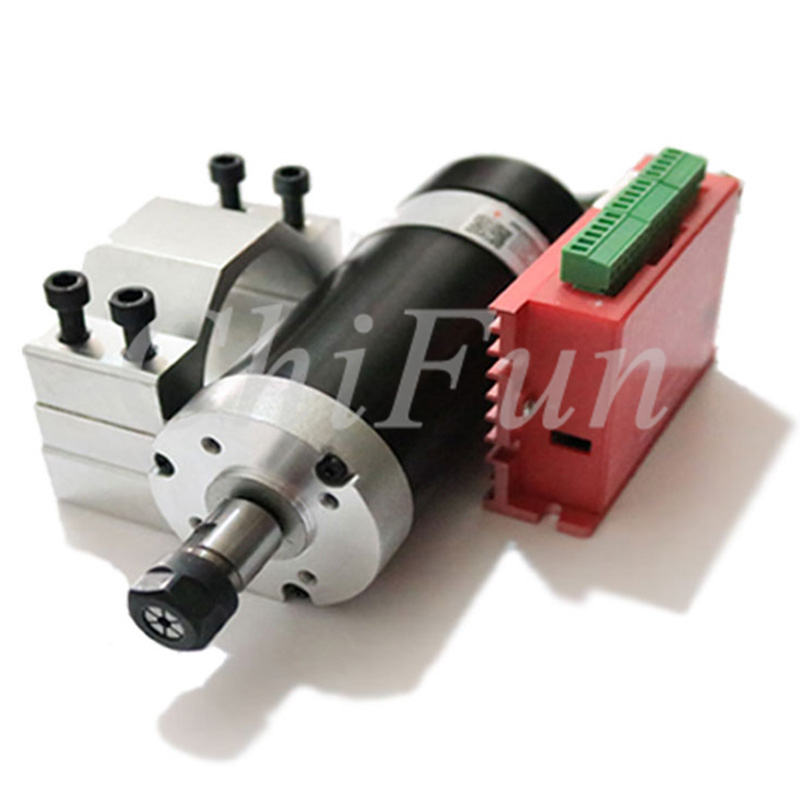 ER11 DIY CNC Desktop Engraving Spindle DC48V 500W 1 5NM 12000RPM High Speed Brushless Spindle Motor