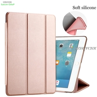 Tablet Case For Ipad 9 7 NEW 2017 Model SZEGYCHX Color PU Ultra Slim Magnet Wake