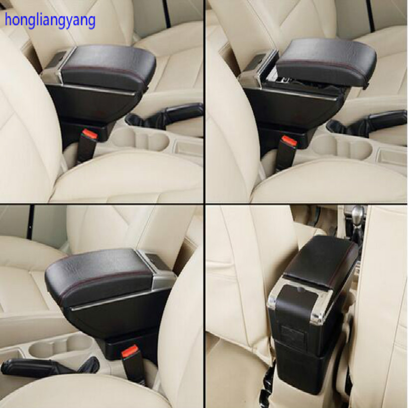 цена на universal high-quality universal Installation base can be adjusted 11-19cm car armrest arm rest car cane including bracket