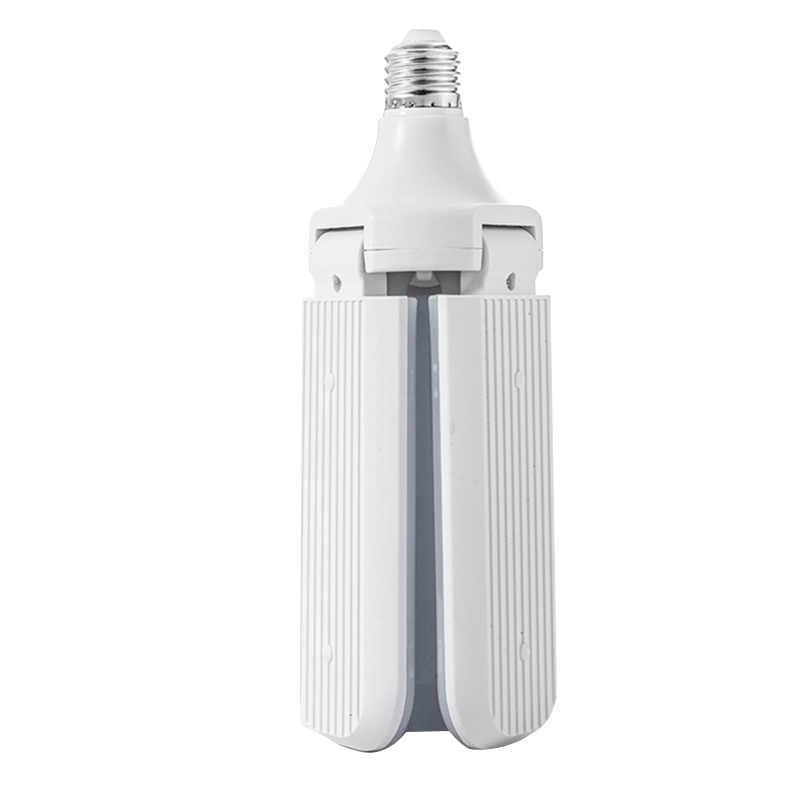 Promocja! Jasna biała żarówka 45W E27/B22 składane gospodarstwa domowego oświetlenie Led temperatura barwowa światła 6000 K-6500 K 4000Lm 2835 228 L