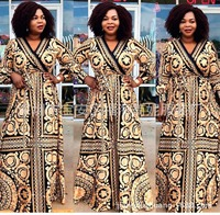 african dresses for women african clothes africa dress print Loose long sleeves Dashiki ladies clothing ankara plus size dresses