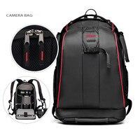 Black Nylon Waterproof Camera DSLR Outdoor Travel Backpack Bag For Sony Canon Nikon Pentax Olympus Cameras