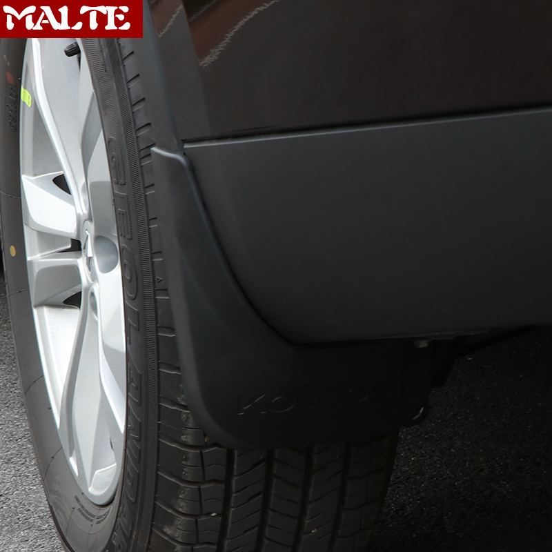 Mudguards For Renault Koleos 2017 2018 Splash Guards Mud Guard Mud Flaps Car Styling Fender splash guard Car Accessories Styling