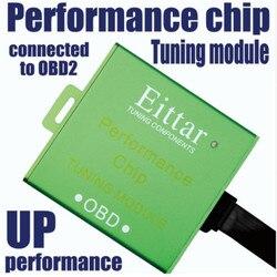 Samochód OBD2 Chip wydajności OBDII OBD 2 samochodowy moduł tuningowy Lmprove wydajność spalania oszczędność paliwa dla Toyota Hiace 2005 +