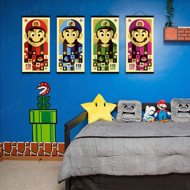 Pictures Of Super Mario Wall Decals