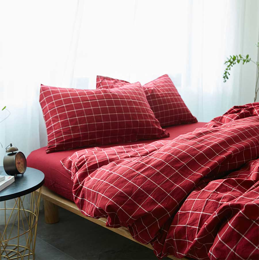 King Size 1pc Flat Sheet 245x265cm Quilt Cover 220x240cm 2pc Pillow Case 48x74cm